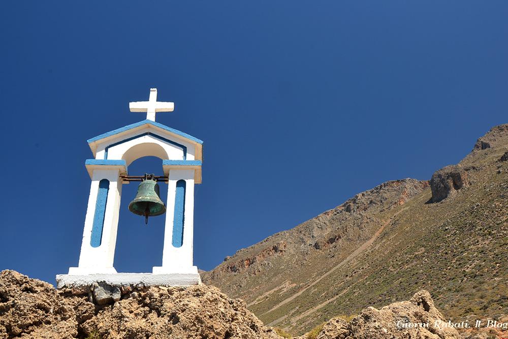 Creta, sentiero Europeo E4, nei pressi di Loutro