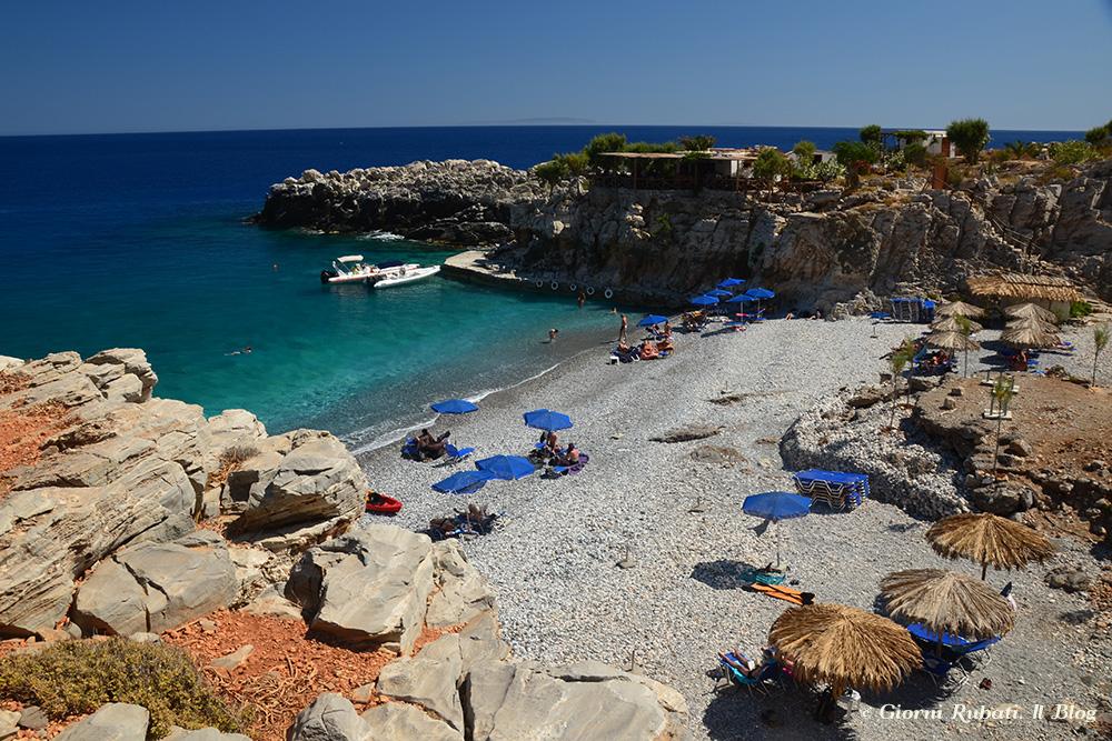 La spiaggia di Marmara, Creta