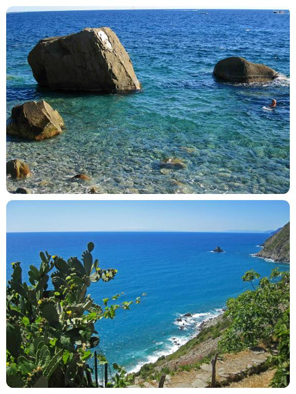 Spiaggia del persico, Campiglia, La Spezia