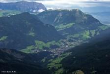 La Val Gardena, panorama