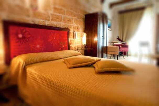 La nostra camera: stanza gialla del B&B Dimora Santo Stefano