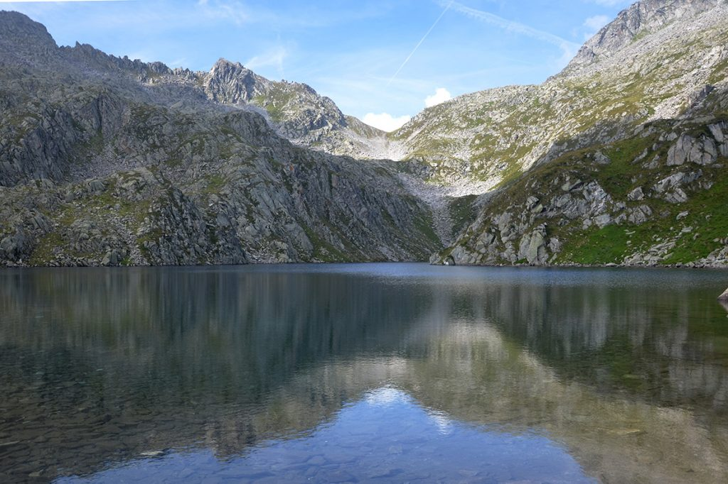Il lago Lambin con i suoi caratteri d'alta quota