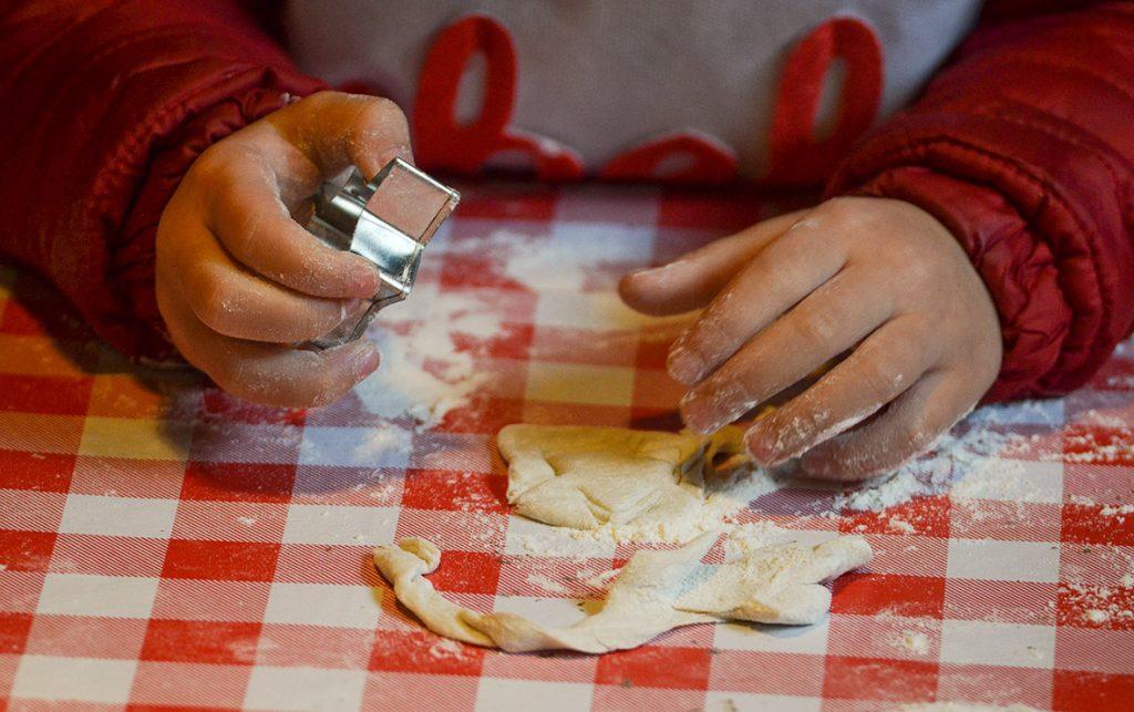 Piccoli chef al lavoro al Bosco degli Elfi