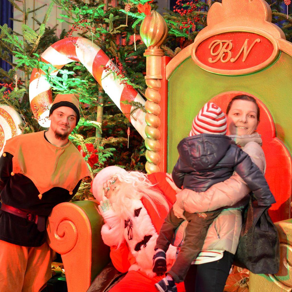 Un saluto da Babbo Natale! La Casa di babbo Natale