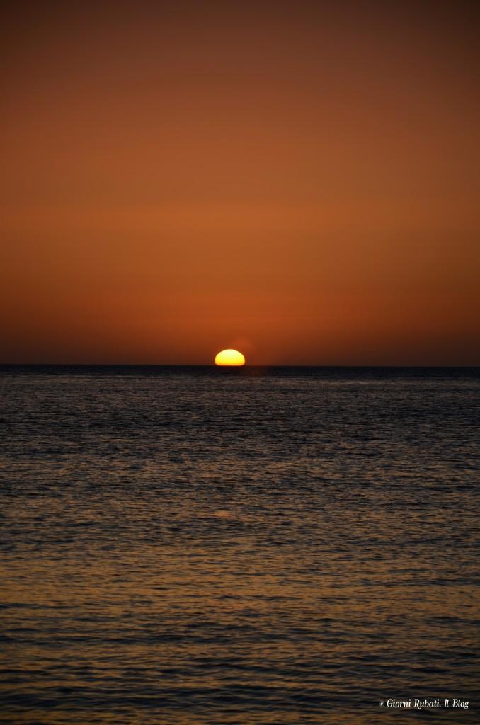 Anos, Sfinari, Creta, tramonto