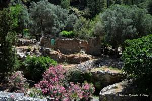 Gole di Samaria, Creta, ruderi del vllaggio