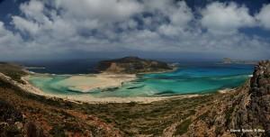 penisola di Balos, Creta, panoramica