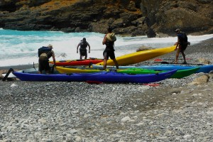 Baia di Ilingas, Creta, canottieri