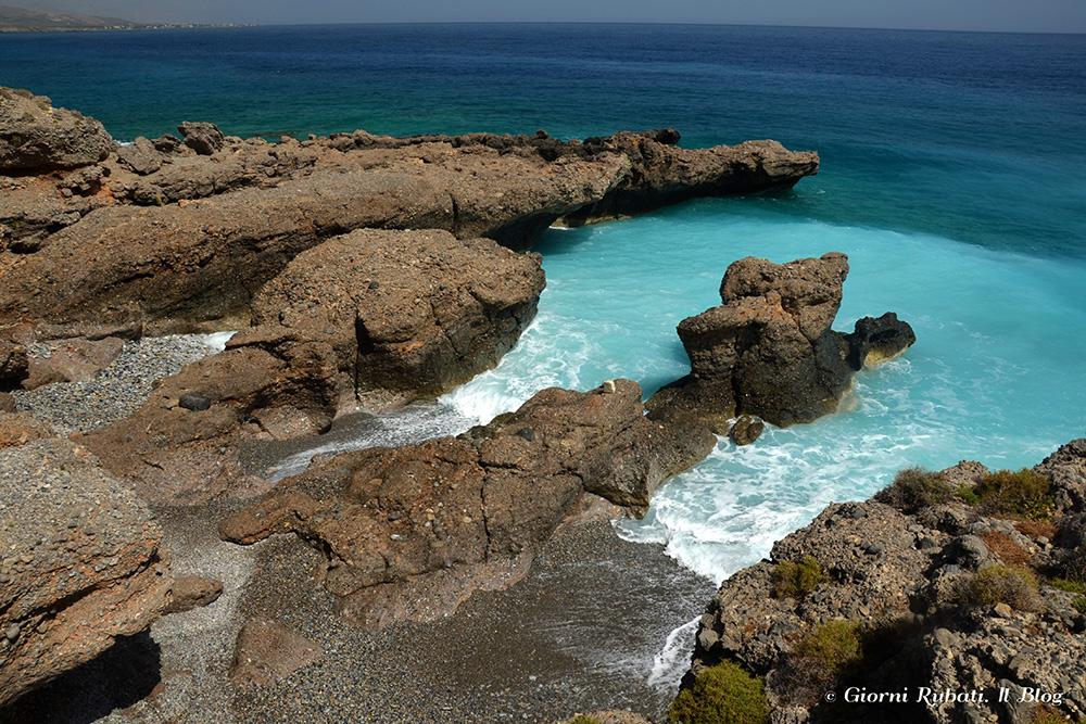 A est di Chora Sfakion, Creta