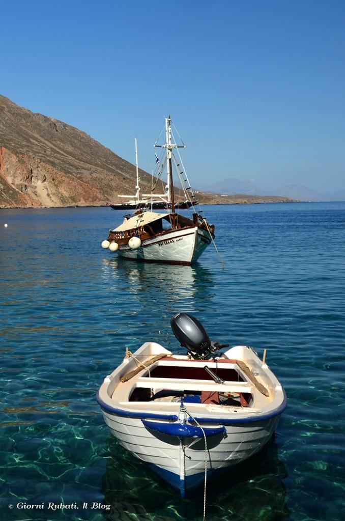 Loutro, Creta, il porticciolo