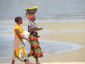 Donne in Mozambico.
