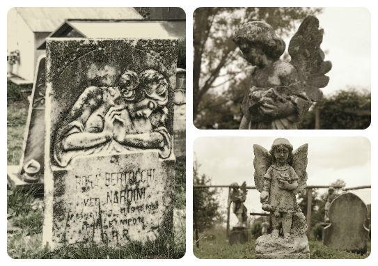 Camporaghena, lunigiana, in guardiani del cimitero