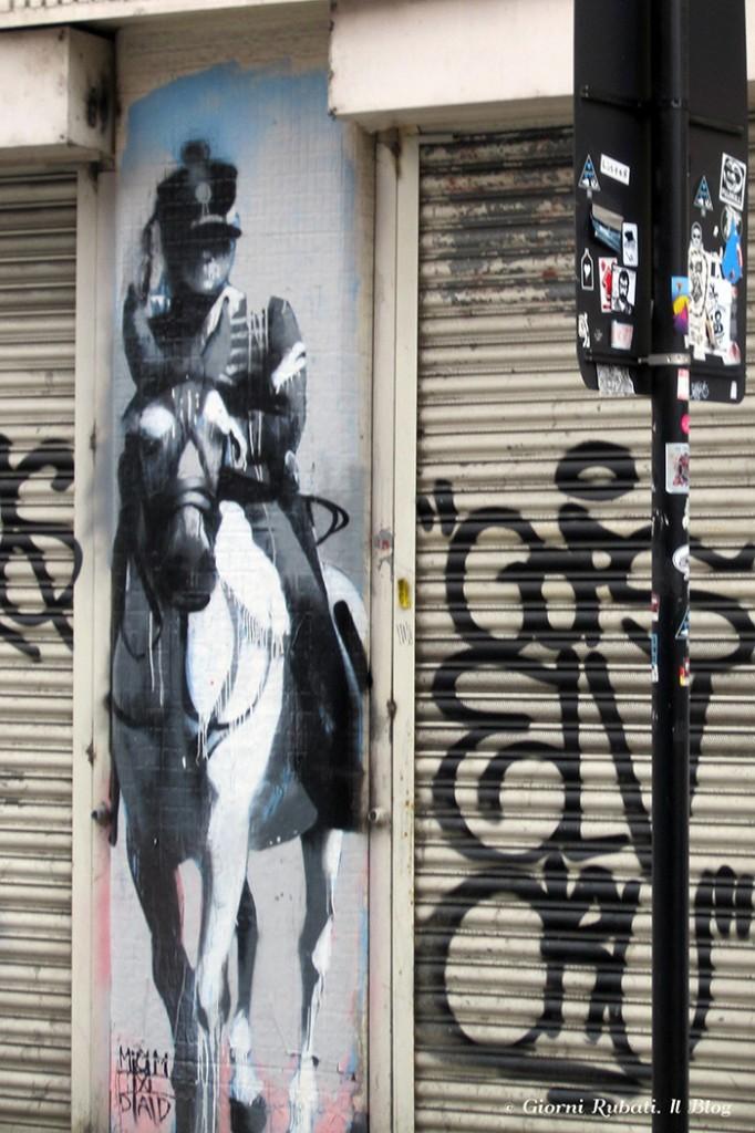 Street Art, Londra, Shoereditch