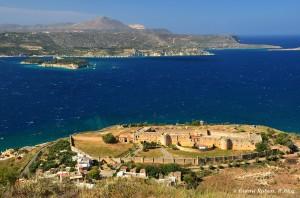 Aptera. Creta, panorama