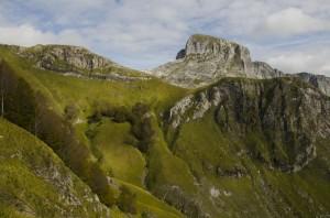 Monte Sumbra dal Passo Fiocca