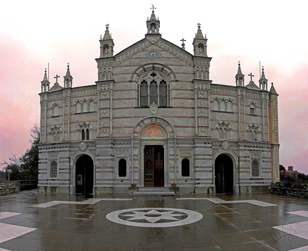 Il Santuario della Madonna di Montallegro a Rapallo: una gemma nascosta del Levante Ligure