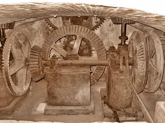 Molino Gangalandi: interno