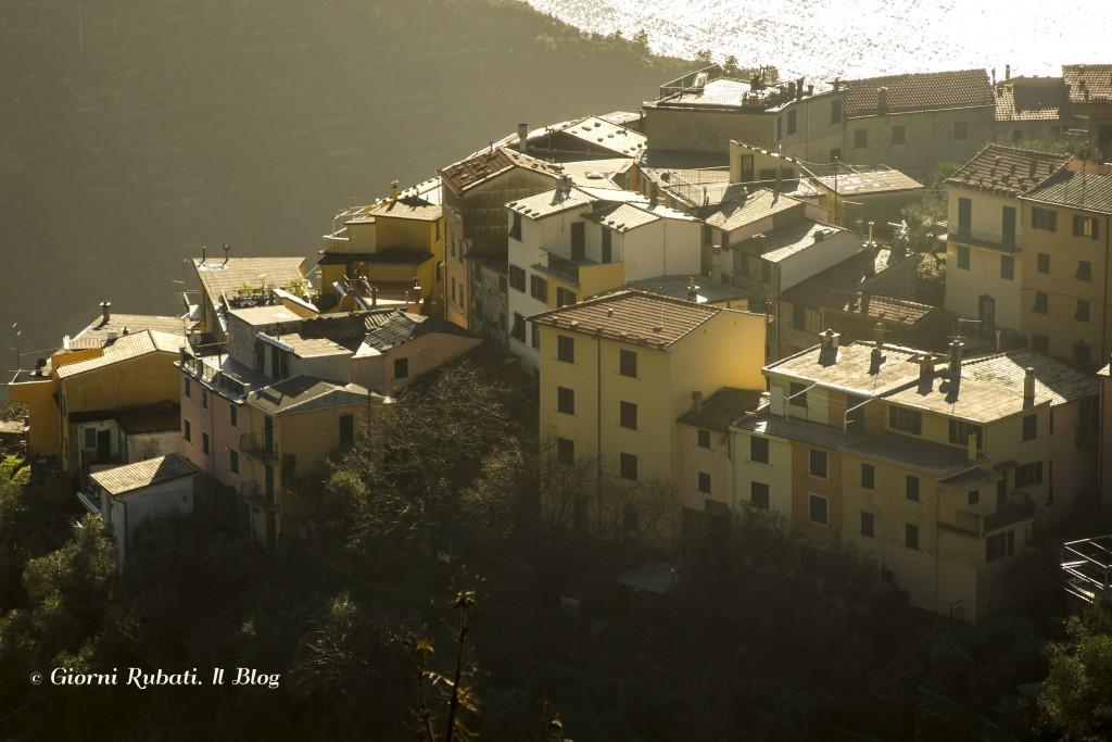Volastra, Cinque Terre, in un assolato pomeriggio invernale