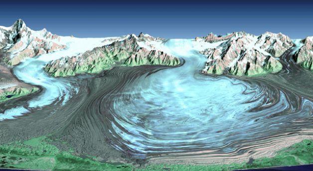 Il ghiacciaio Malaspina