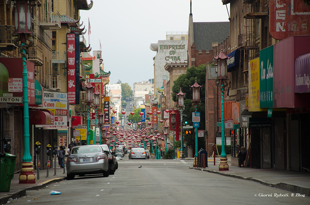 San Francisco, Chinatown, mattina