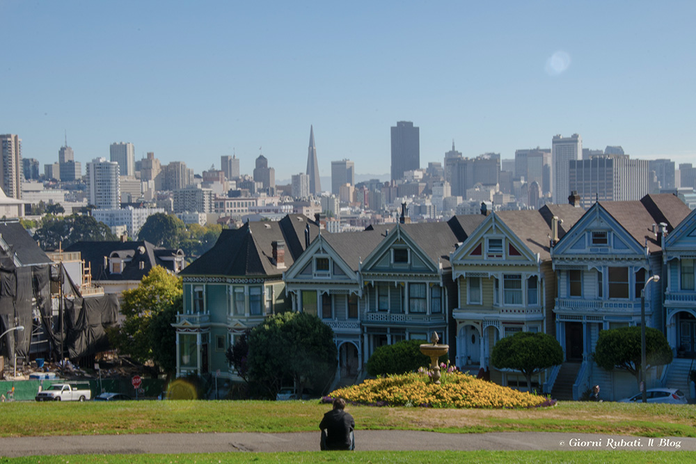 San francisco, Alamo Square