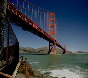 Golden Gate, Fort Point, San Francisco