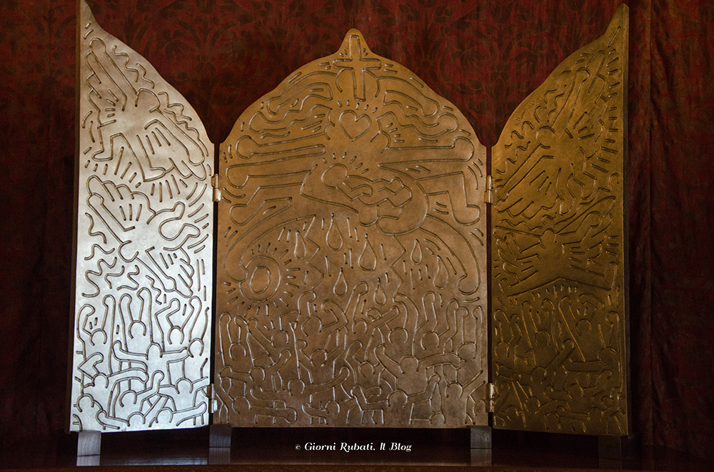 Keith Haring, Pala d'altare, Grace cathedral, San Francisco