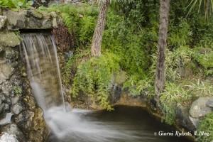 Cascatella al Parco Rocca, Chiavari