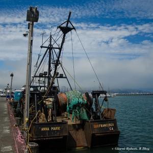 San Francsico, Fisherman Wharf, Peschereccio