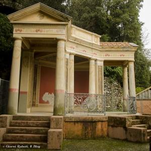 Templietto Neo-pompeiano, Parco Rocca, Chiavari