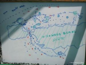 Mappa nautica di Wadi Gimal