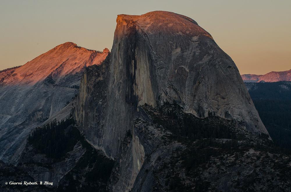 Half Dome daGlacier Point, Yosemite National park