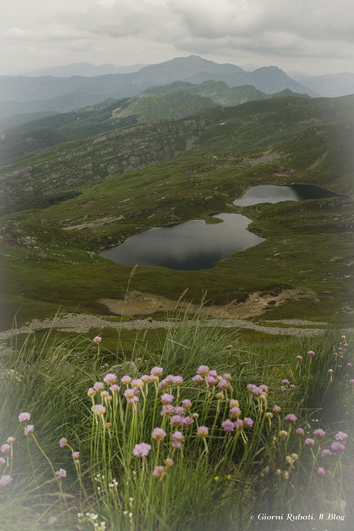 L'anello degli zaffiri dei Laghi del Sillara: colori nordici sull'Appennino Parmense