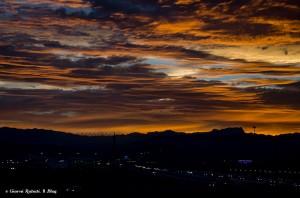 Il tramonto del Nevada