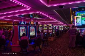 Uno dei casinò più vecchi di Las Vegas, al Flamingo