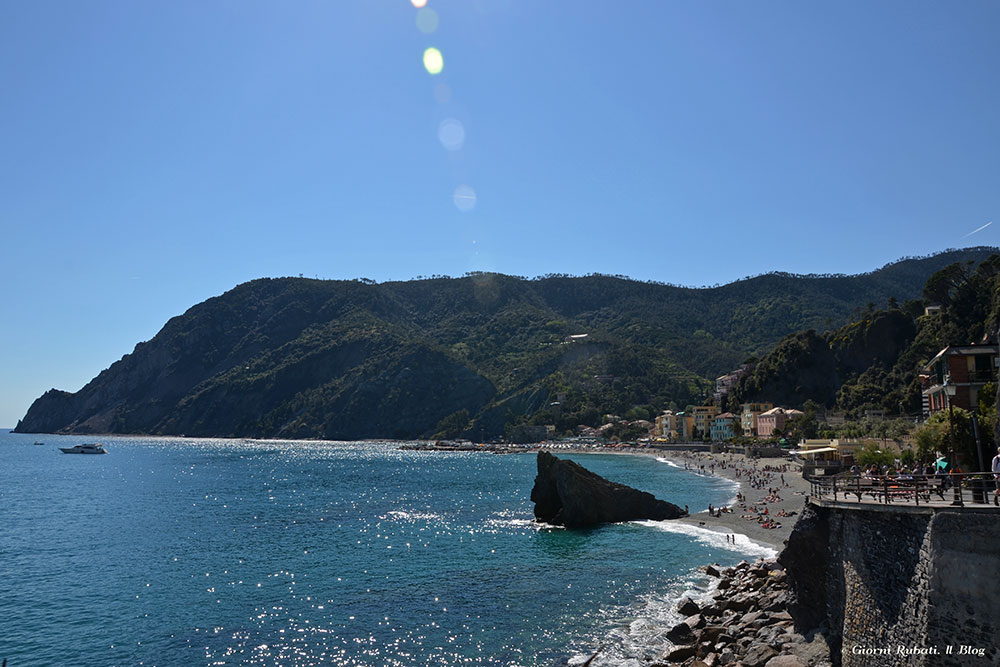 Monterosso, la spiaggia