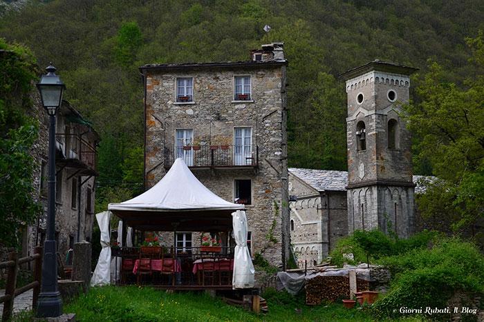 Isola Santa, il borgo