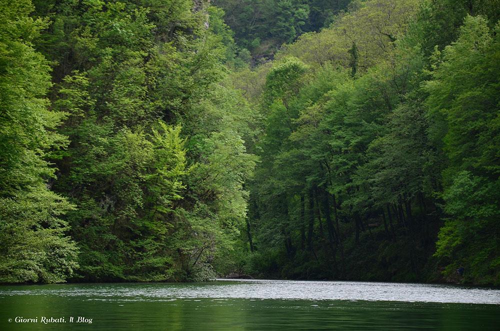 Isola Santa, Garfagnana: il lago