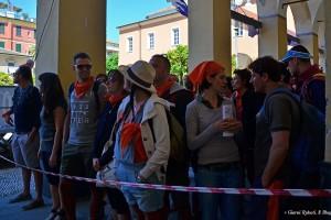 Ai blocchi di partenza! Levanto, piazza Cavour, Mangialonga 2014
