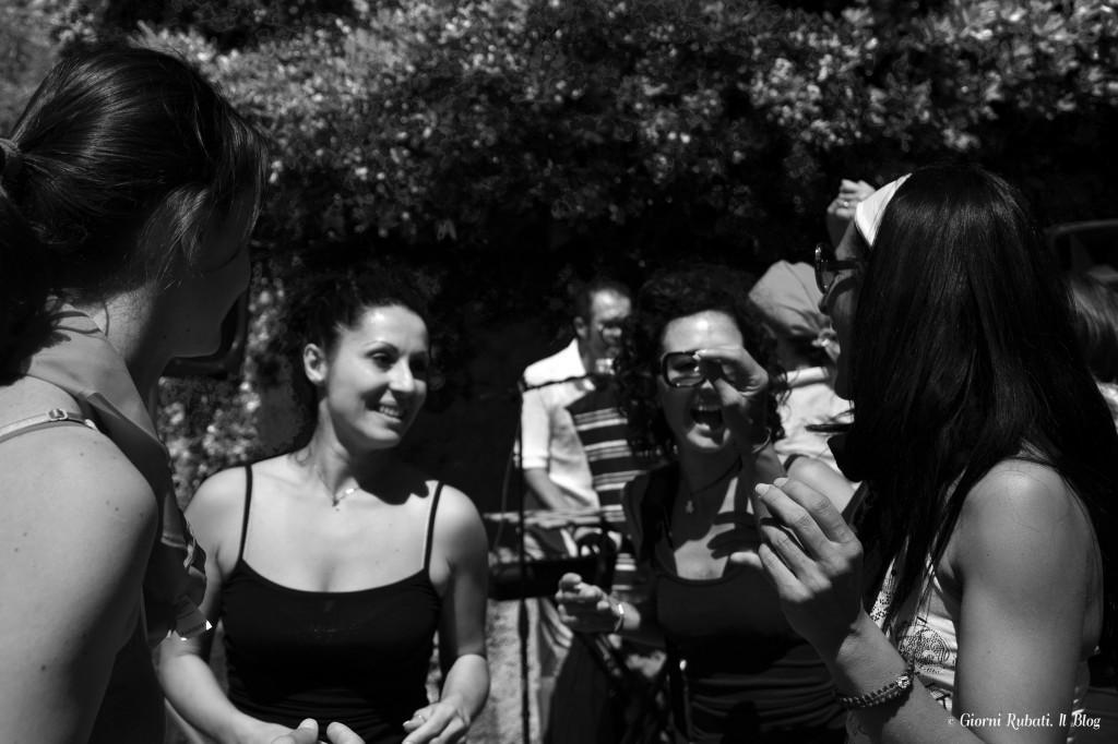 amiche in pista, Mangialonga 2014, Levanto