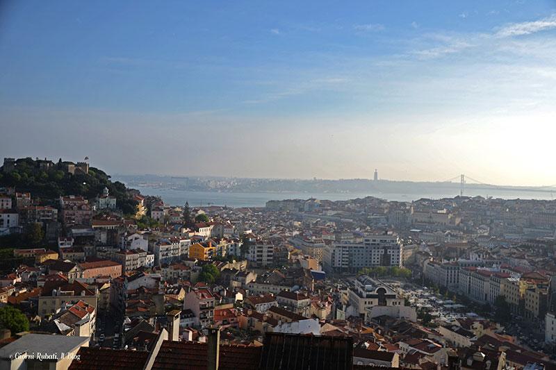 Panorama dal miraudoro da Senhora do Monte