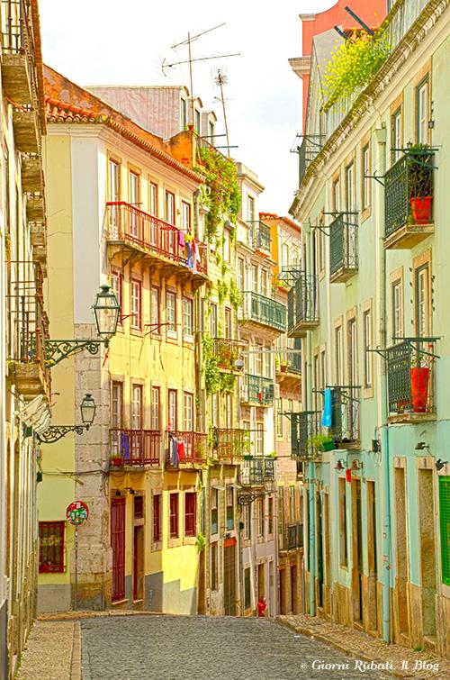 Lisbona, il bairro alto