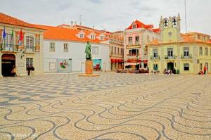 Cascais, Portogallo, la piazza