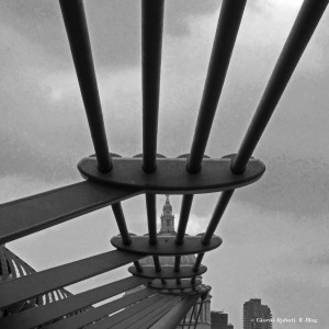 Millenium bridge, Londra, un'altra prospettiva