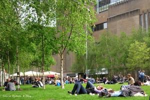 Relax alla Tate Modern, Londra