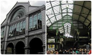 Borough market, Londra: esterno ed interno.