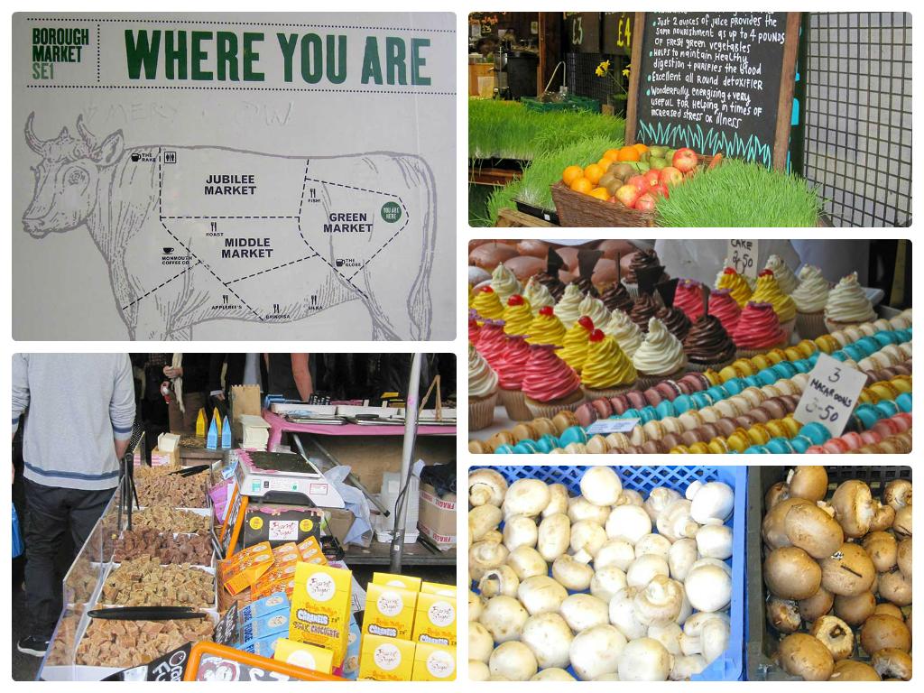 Borough market, varietà alimentare