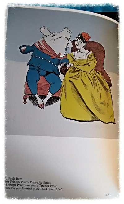 Paula Rego/honoré Daumier, una pagina del catalogo