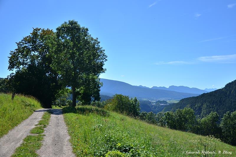 Val di Non, sentiero jacopo d'Aunania
