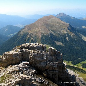 Val di Fiemme, panorama dal Latemar